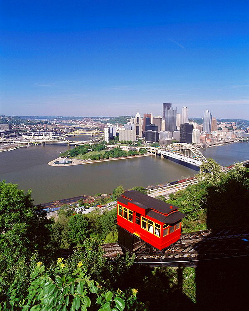 Duquesne Incline, Pittsburgh, Pennsylvania, USA