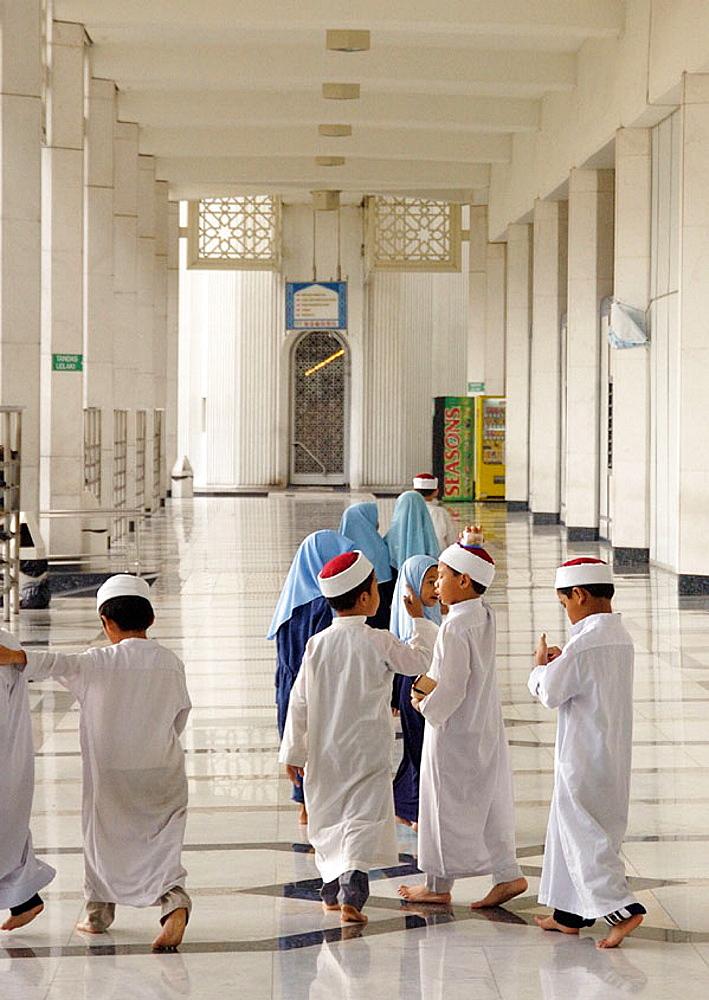 Malaysia, Selangor, Koranic school of the Blue Mosque