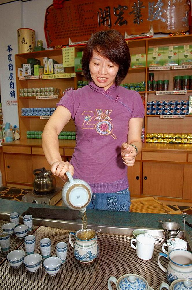 Taiwan oolong tea, Taiwan, Republic of China