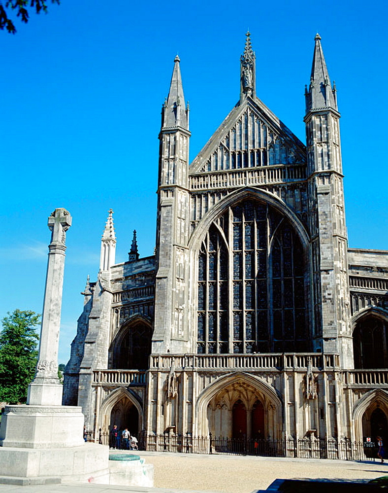 Winchester Cathedral (14th century), Winchester, Hampshire, UK