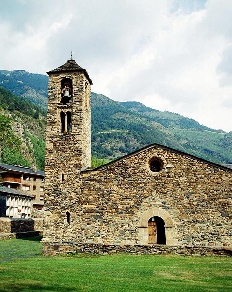 Sant Marti de la Cortinada, Andorra.
