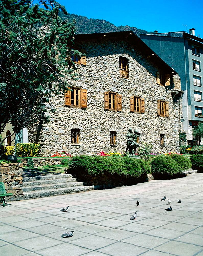 'Casa de les Valls', Andorra la Vella, Andorra