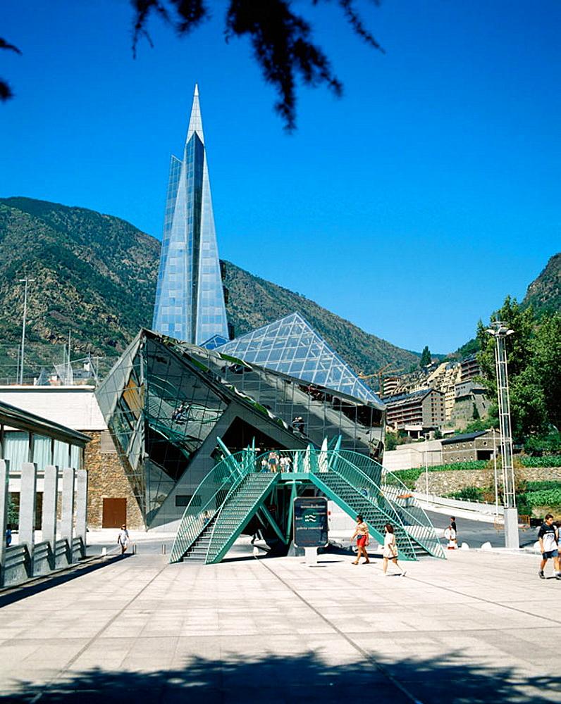 Caldea, Thermal Leisure Centre, Andorra