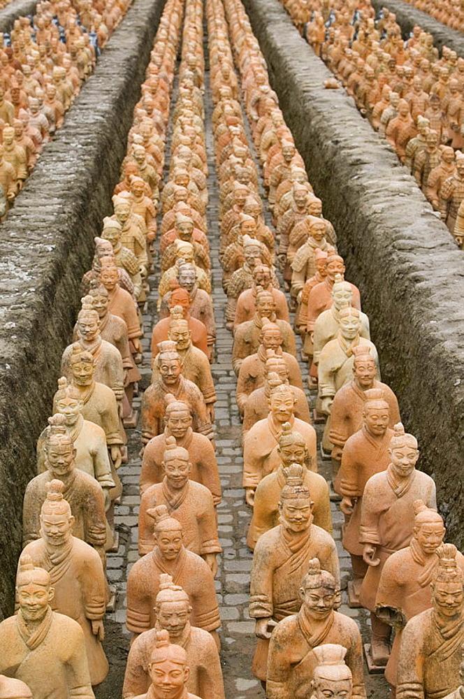 Forbidden Gardens- 6000 replica 1/2 scale soldiers of the Terra Cotta Army, Katy (Houston Area), Texas,USA.