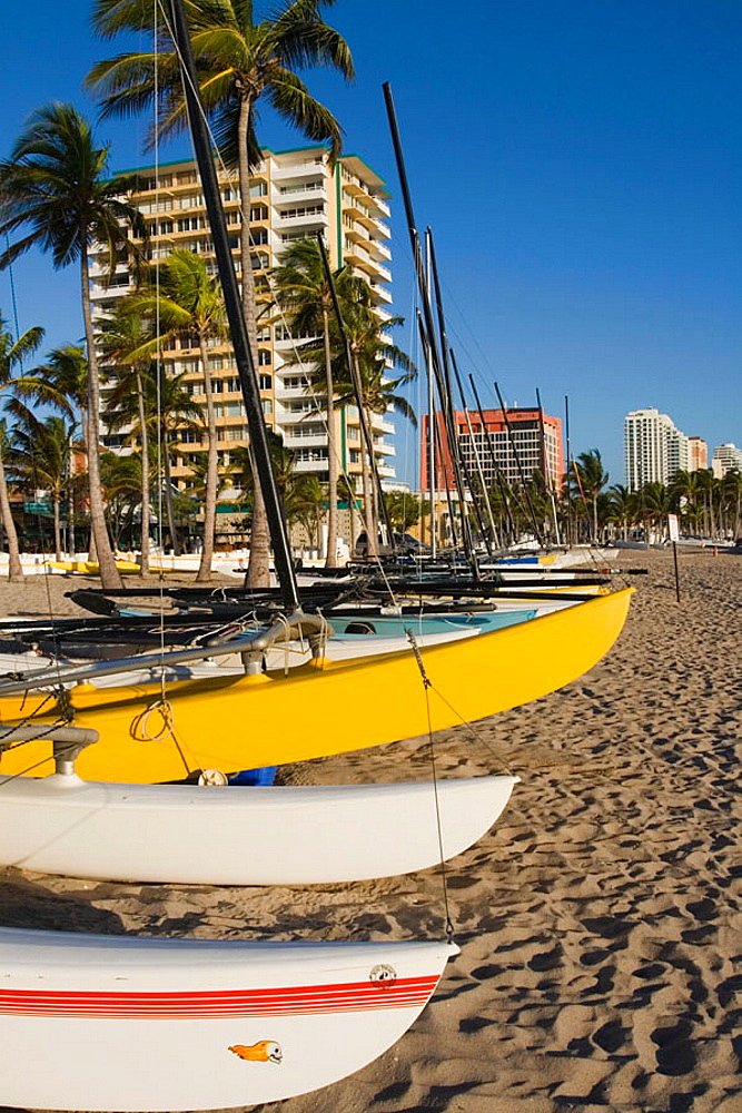 Fort Lauderdale Beach / Morning, Fort Lauderdale, Florida, USA
