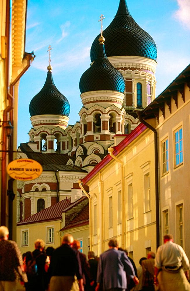 Alexander Nevski Cathedral in Toompea upper town, Tallinn, Estonia - 817-89397