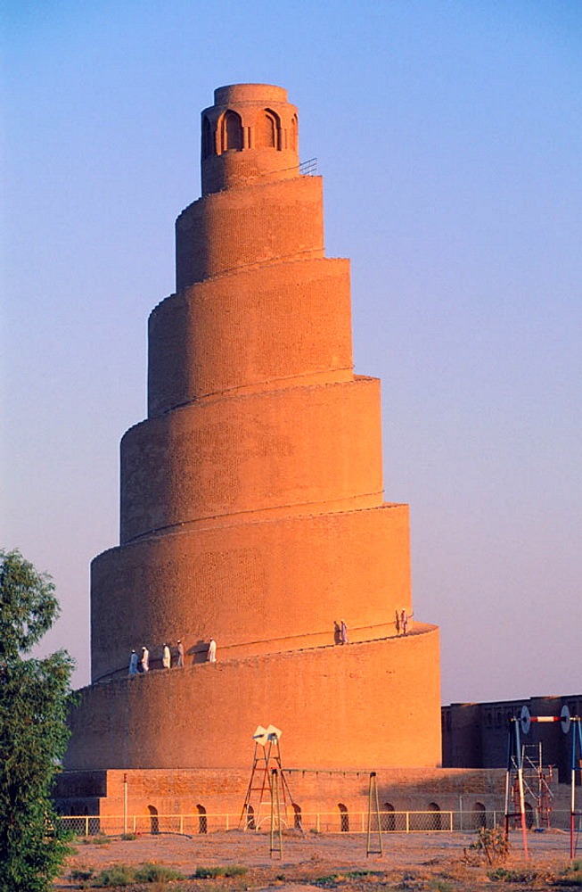 Spiral minaret, Great Mosque, Samarra, Irak