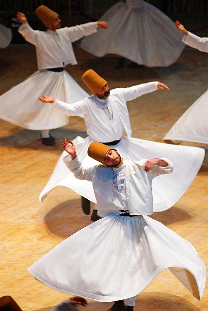 Whirling dervishes, Konya, Central Anatolia, Turkey