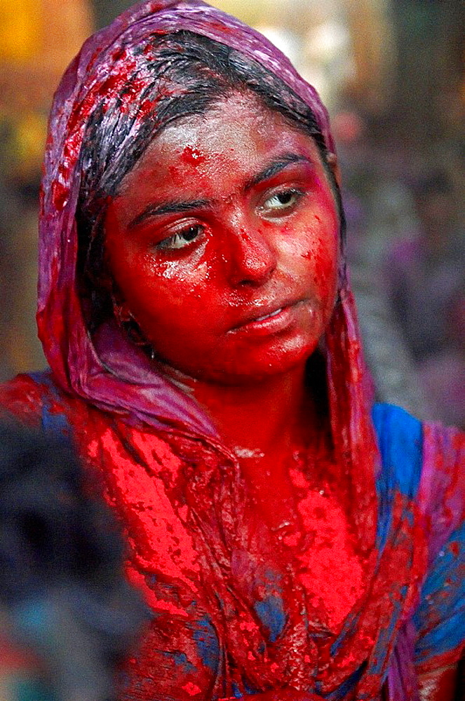 India, Holi festival, color and spring festival. - 817-97876