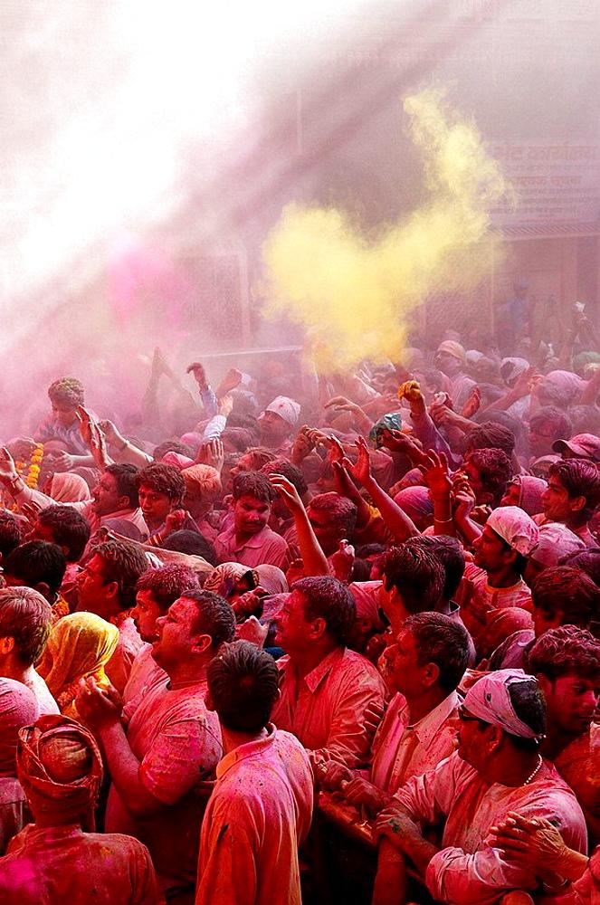 India, Holi festival, color and spring festival. - 817-97889