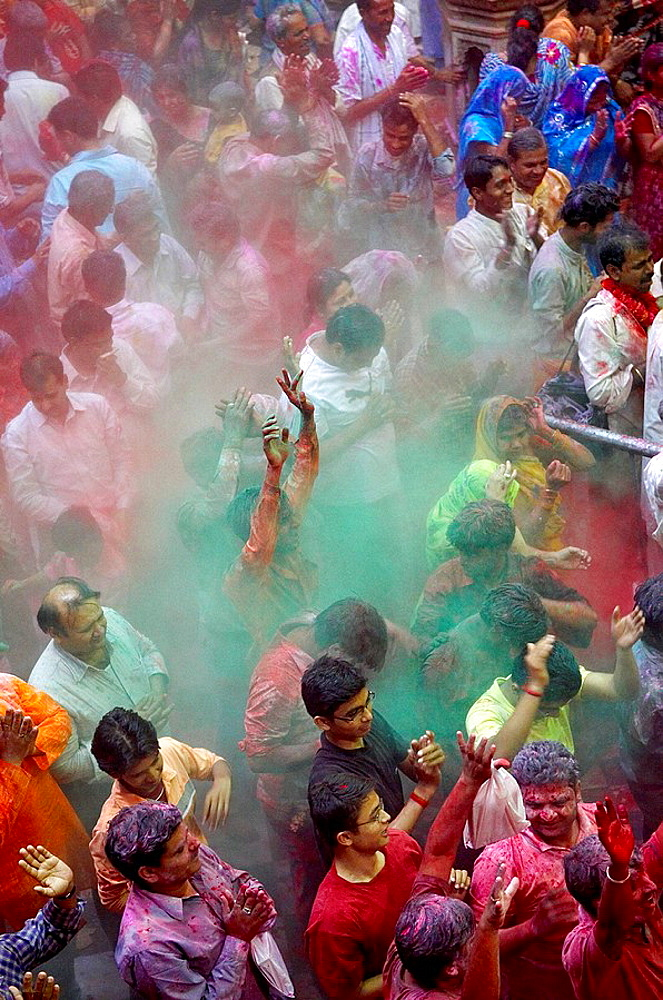 India, Holi festival, color and spring festival. - 817-97899