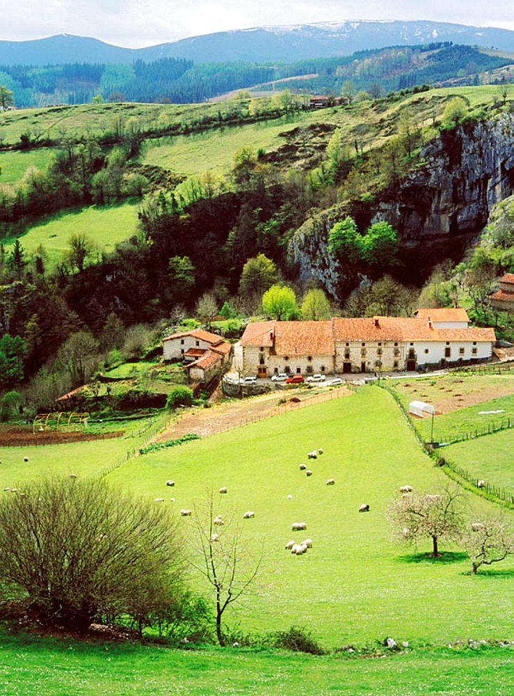 Arantzazu, Valle de Onate, Guipuzcoa province, Basque Country, Spain