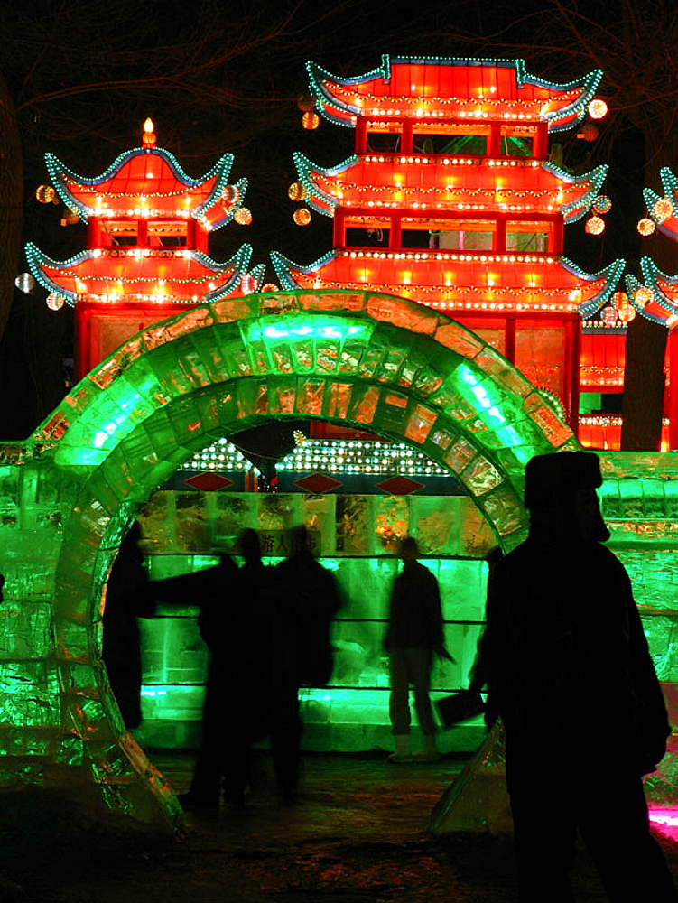 Ice Festival, Harbin, China.