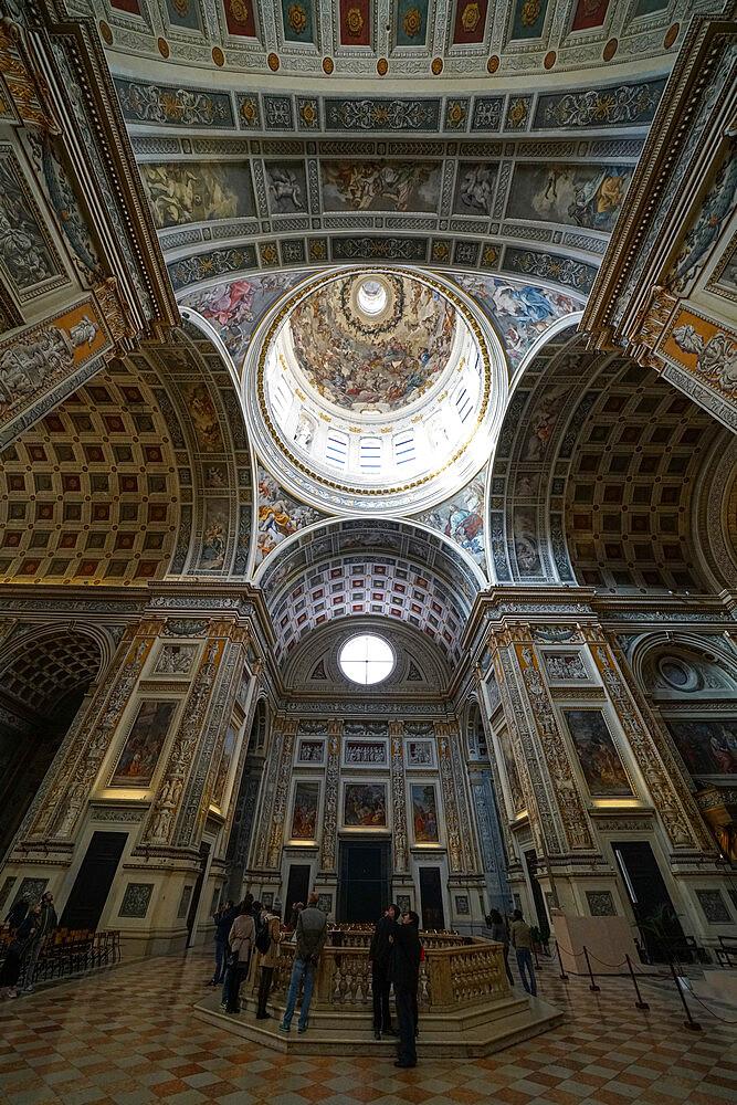 Basilica of Sant'Andrea, Mantua, Lombardy, Italy, Europe - 819-1236
