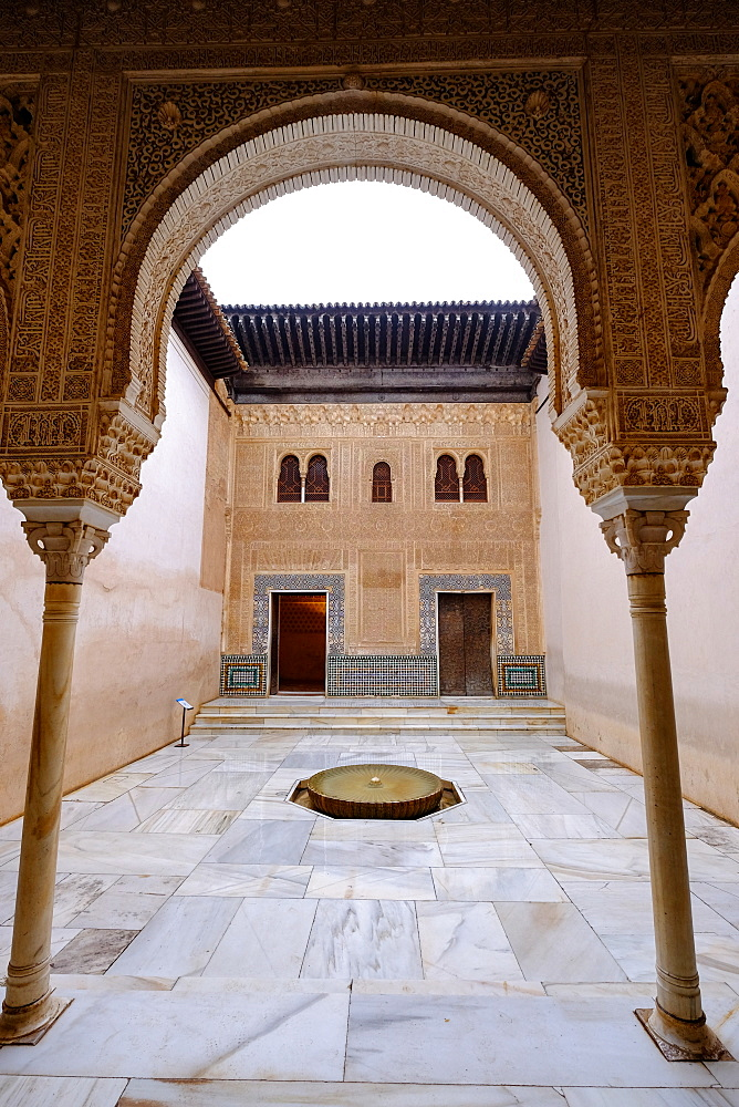 Palacios Nazaries, The Alhambra, UNESCO World Heritage Site, Granada, Andalucia, Spain, Europe