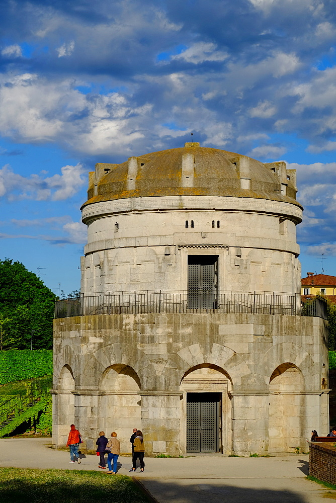 Mausoleum of Theoderic, UNESCO World Heritage Site, Ravenna, Emilia-Romagna, Italy, Europe