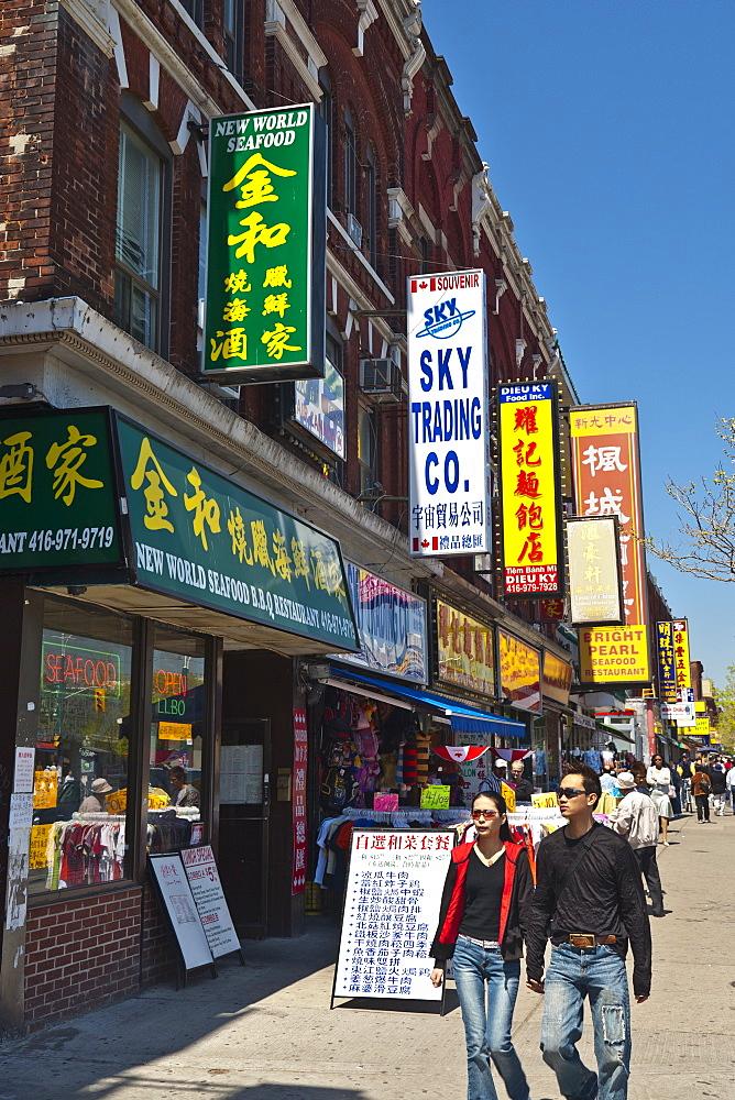 Spadina Street, Chinatown, Toronto, Ontario, Canada, North America - 821-179