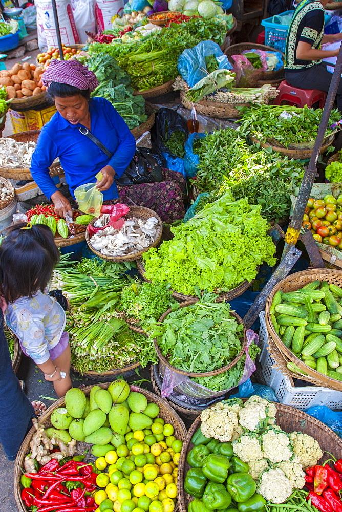 Central Market, Phnom Penh, Cambodia, Indochina, Southeast Asia, Asia - 821-235