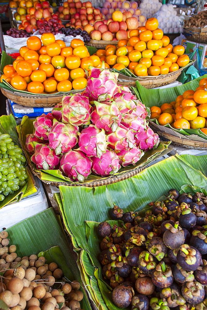 Central Market, Phnom Penh, Cambodia, Indochina, Southeast Asia, Asia - 821-236