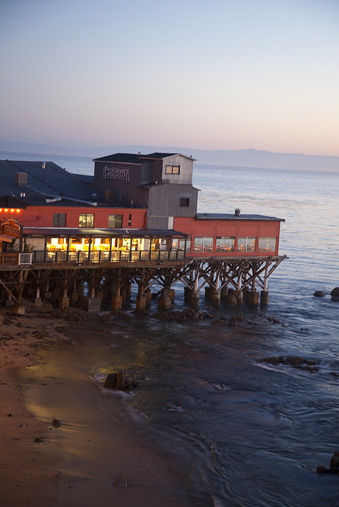 Old restored cannery in Monterey, California, United States of America, North America - 825-232