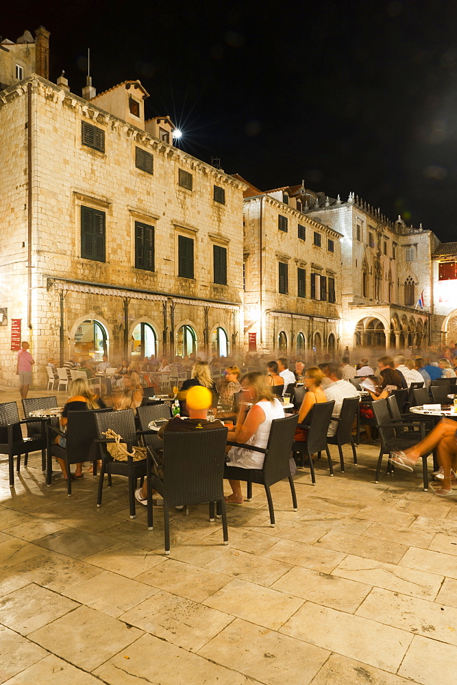 Nightlife, Dubrovnik, Dubrovnik-Neretva county, Croatia, Europe - 827-401