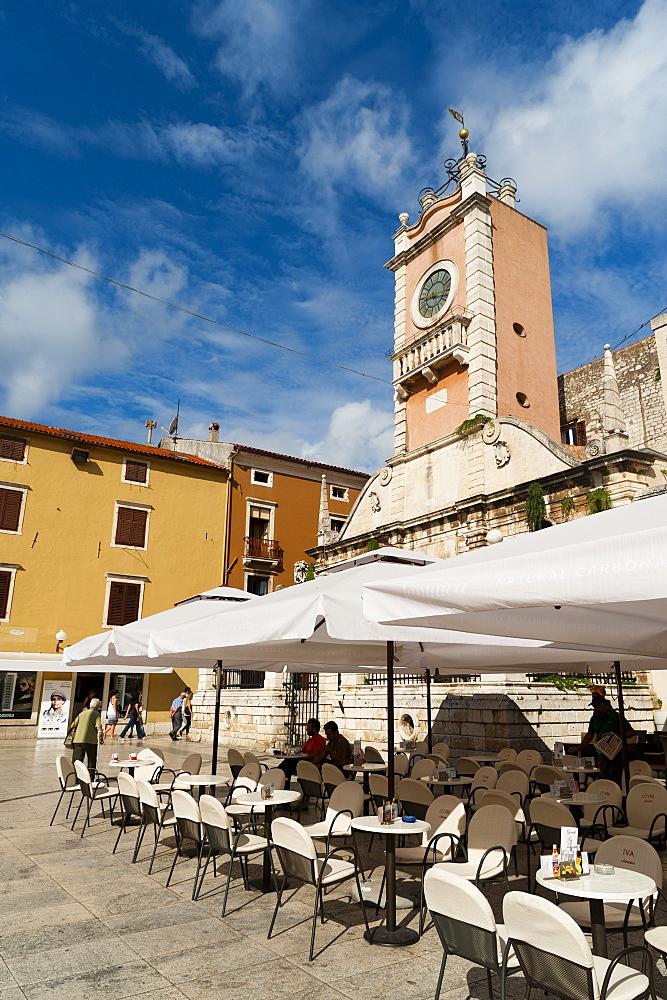 Narodni Trg (Narodni Square), Zadar, Zadar county, Dalmatia region, Croatia, Europe - 827-427