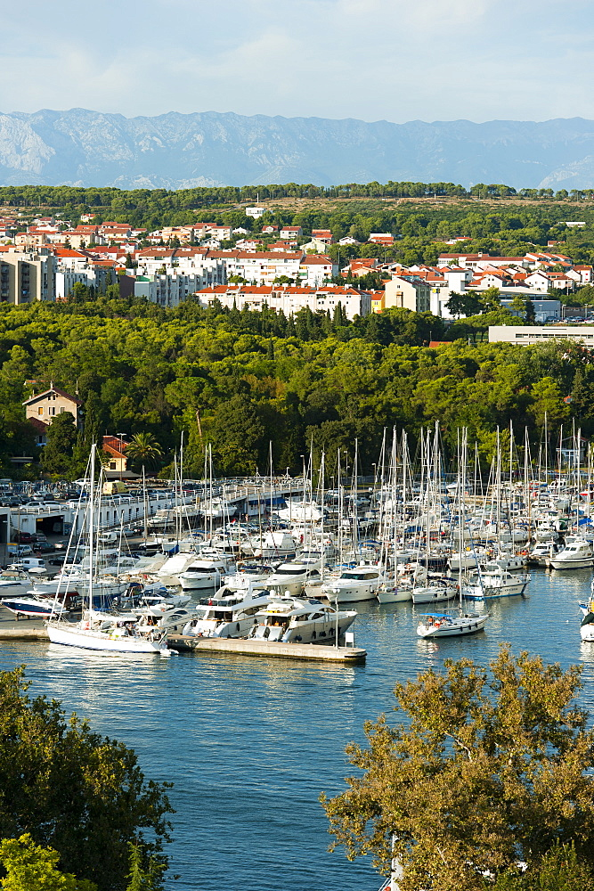 City view, Zadar, Zadar county, Dalmatia region, Croatia, Europe - 827-441