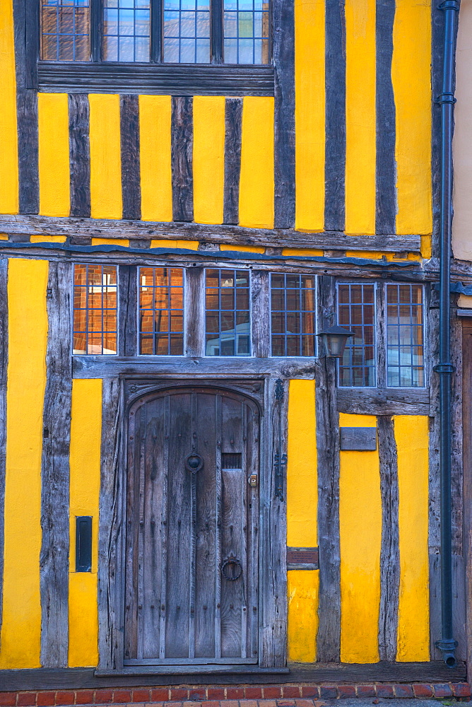 Water Street, Lavenham, Suffolk, England, United Kingdom, Europe - 828-1028