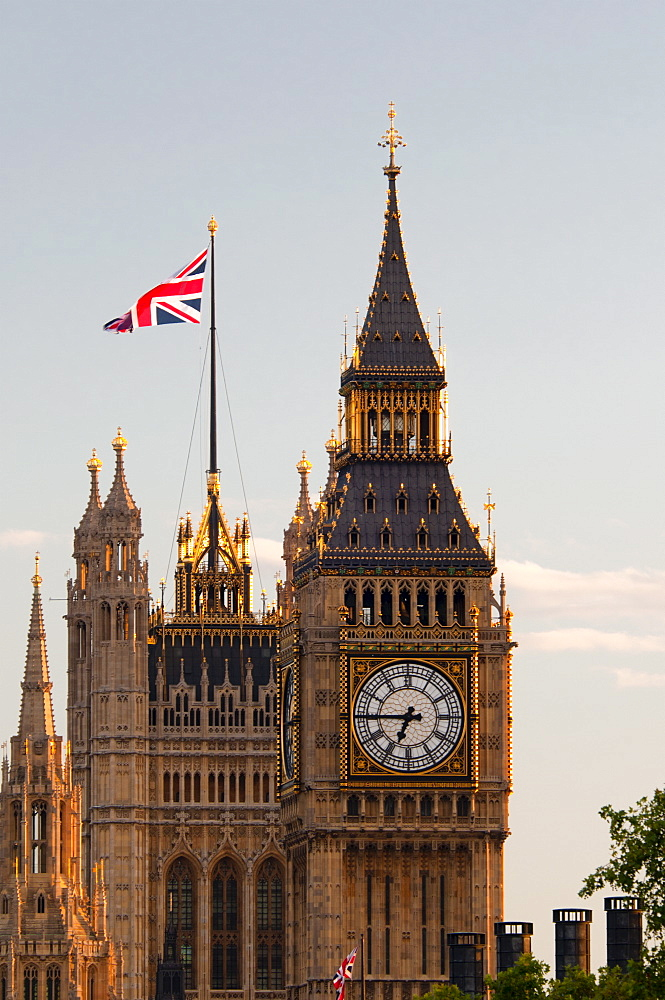 Houses of Parliament and Big Ben, Westminster, UNESCO World Heritage Site, London, England, United Kingdom, Europe