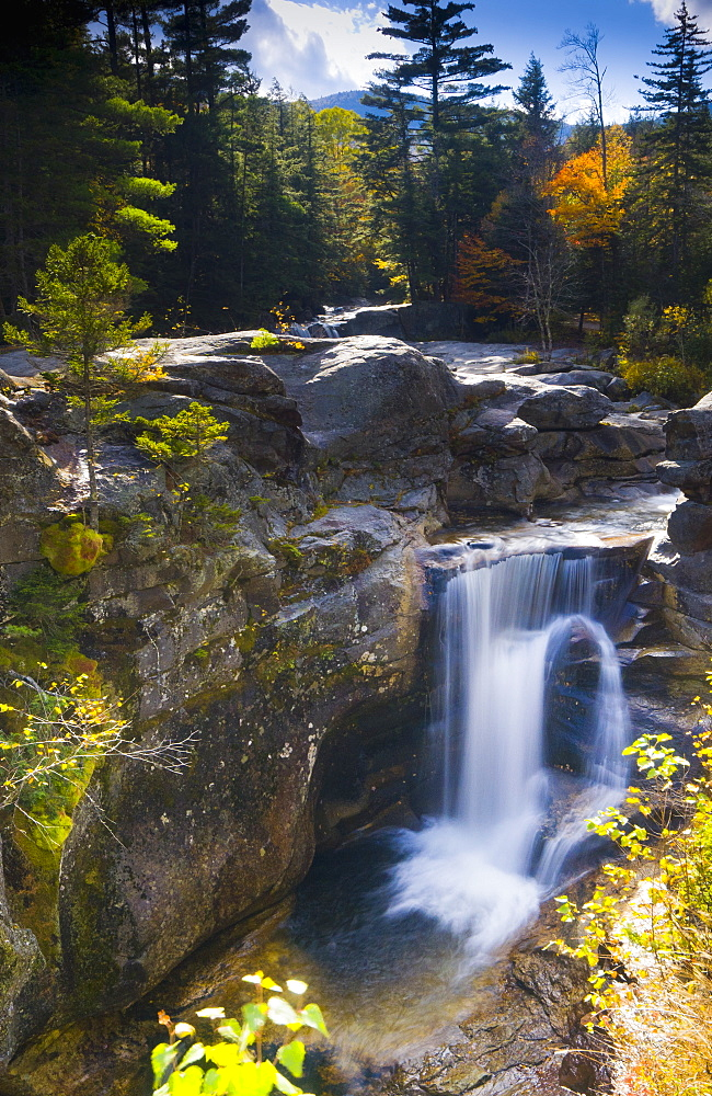 Screw Auger Falls, Grafton Notch State Park, Maine, New England, United States of America, North America