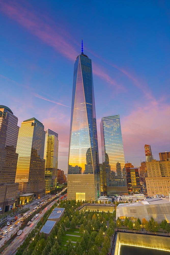 World Trade Center, Freedom Tower (One World Trade Center), Downtown, Manhattan, New York, United States of America, North America - 828-933
