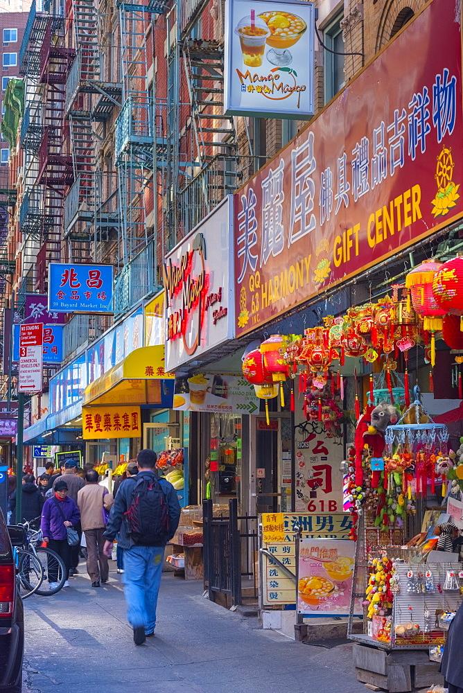 Chinatown, Lower Manhattan, Manhattan, New York, United States of America, North America