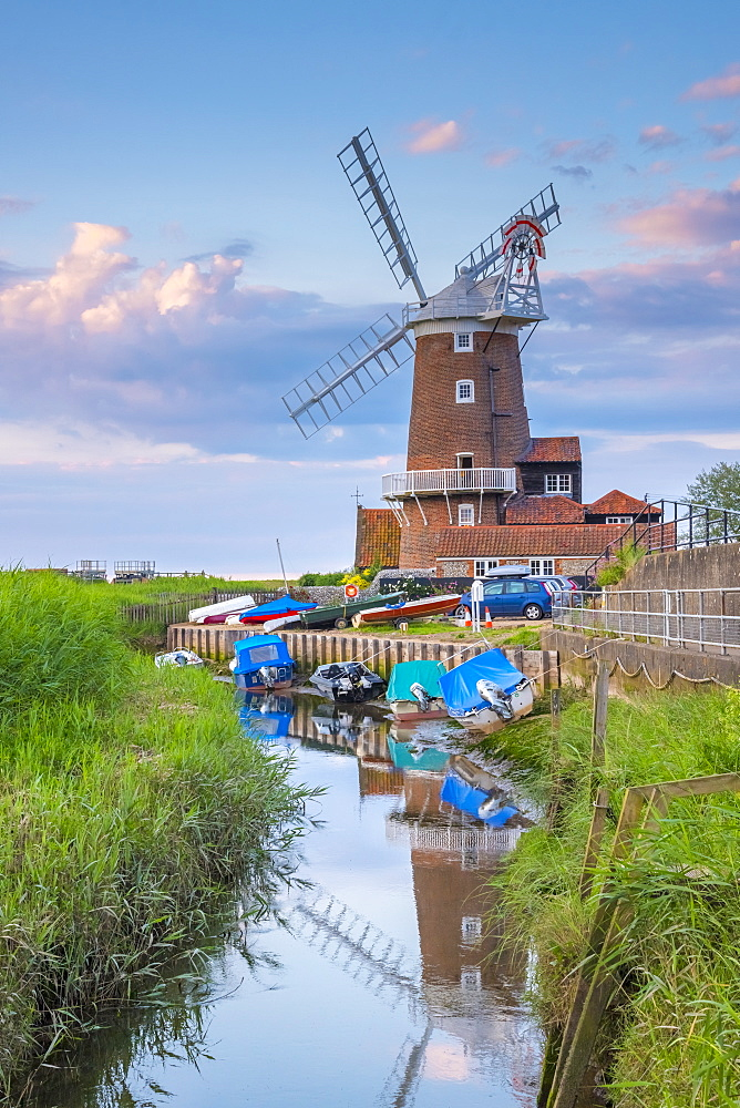 Cley Windmill, Cley-next-the-Sea, North Norfolk, Norfolk, England, United Kingdom, Europe