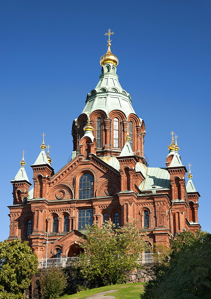 Uspenski cathedral in Helsinki, Finland, Scandinavia, Europe