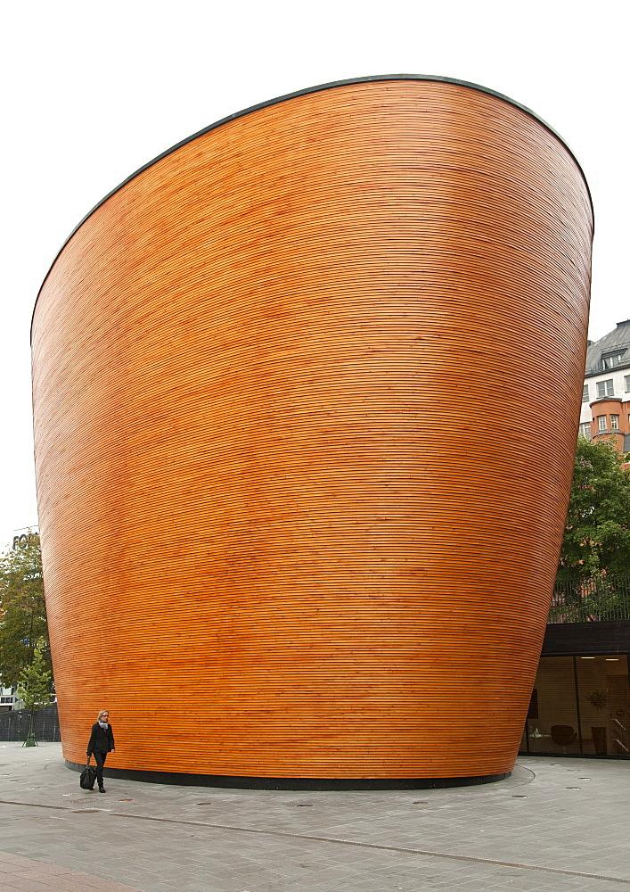 Kamppi Chapel of Silence in Helsinki, Finland, Scandinavia, Europe
