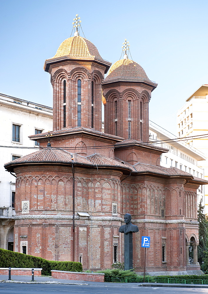 Kretzulescu Church, an Eastern Orhtodox church in Bucharest, Romania, Europe