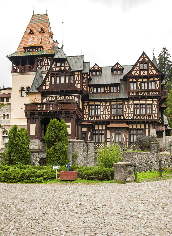 Annex to Peles Castle in the Carpathian mountains in the Transylvania region of central Romania, Europe