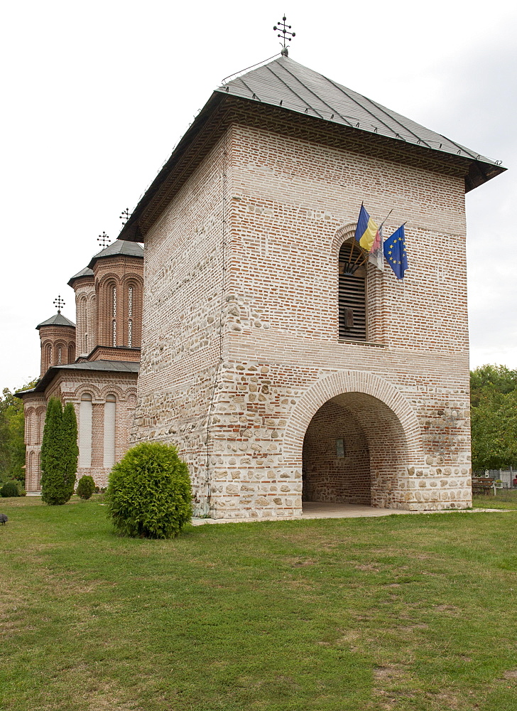 Snagov Monastery where the remains of Vlad the Impaler (Dracula) are said to lie, Romania, Europe