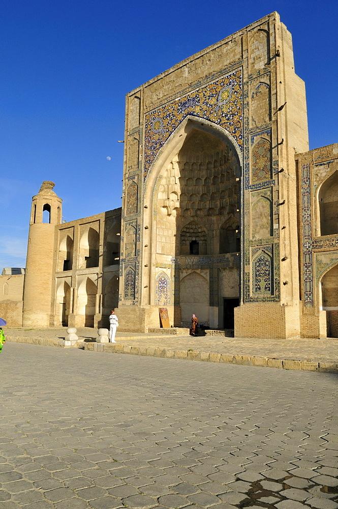 Abdulaziz Chan, Khan Madrasah, Bukhara, Buchara, Unesco World Heritage Site, Uzbekistan, Central Asia