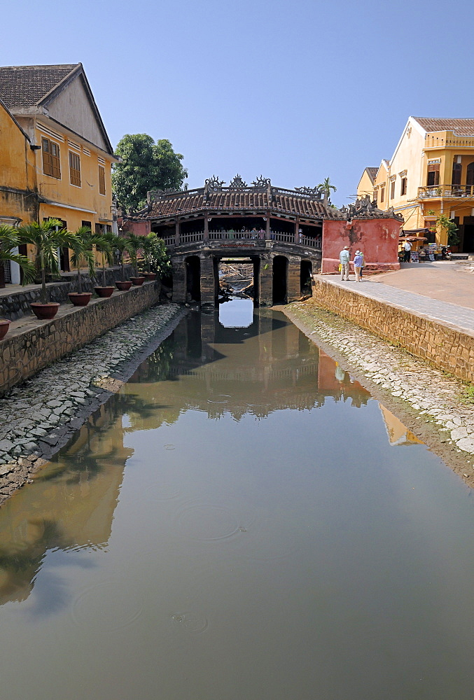 Japanese bridge, landmark, Hoi An, Vietnam, Southeast Asia