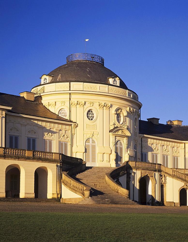 Schloss Solitude Castle near Stuttgart, Baden-Wuerttemberg, Germany, Europe
