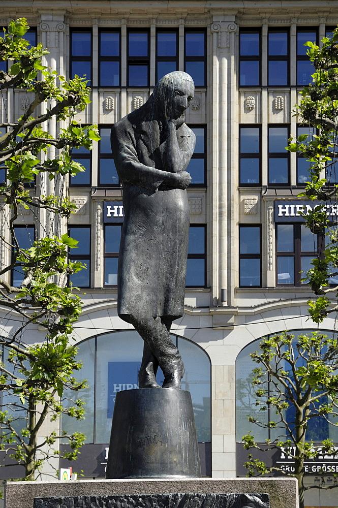 Heine Memorial, City Hall Market, Hamburg, Germany, Europe