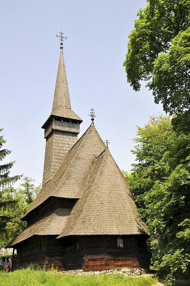 Church, Village Museum Muzeul National al Satului Dimitrie Gusti, Bucharest, Romania, Europe