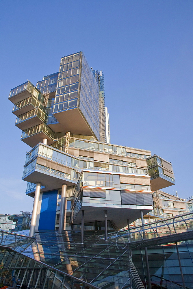 Norddeutsche Landesbank bank, Nord LB, NordLB, architect Behnisch and Partner, Hannover, Lower Saxony, Germany, Europe