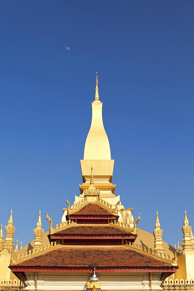 Pha That Luang, Pha Tat Luang, Vientiane, Laos, Southeast Asia