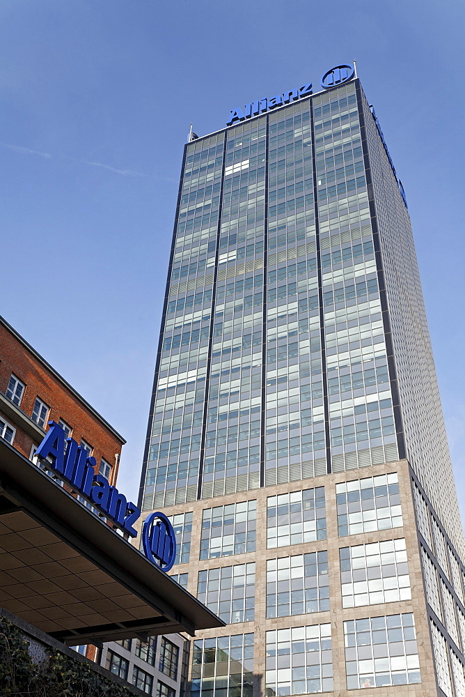 Treptowers, high-rise administration of the Allianz Berlin, Treptow district, Berlin, Germany, Europe
