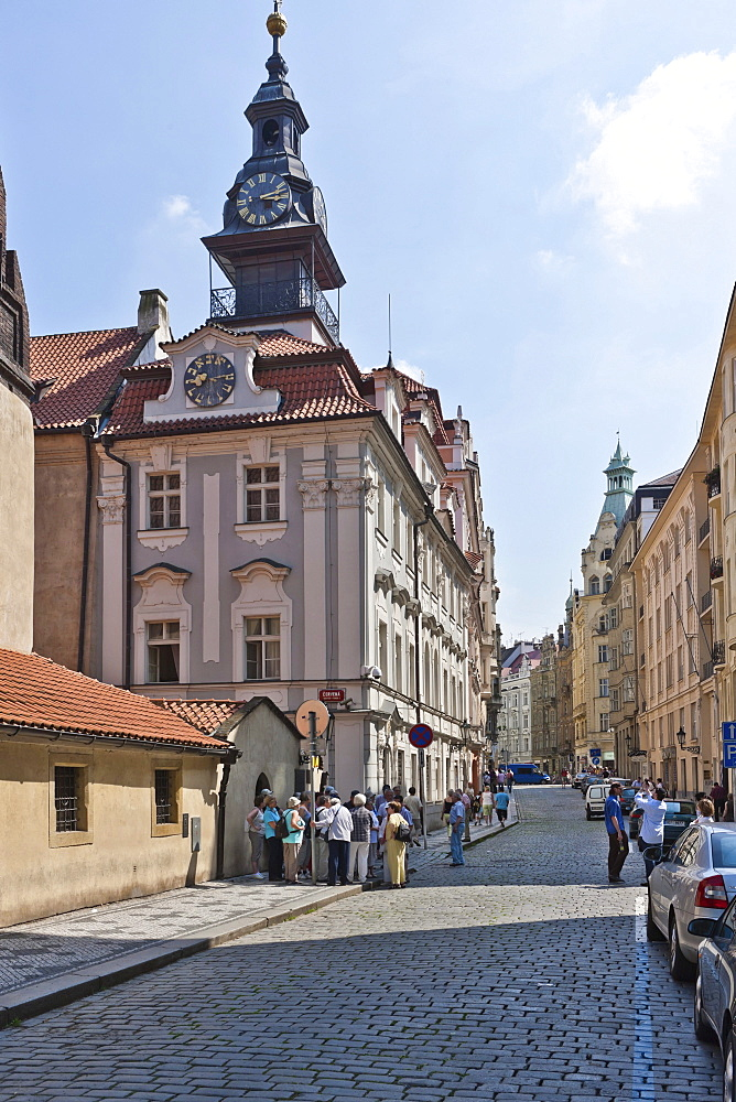 Vysoka Synagogue, old town of Prague, Czech Republic, Europe