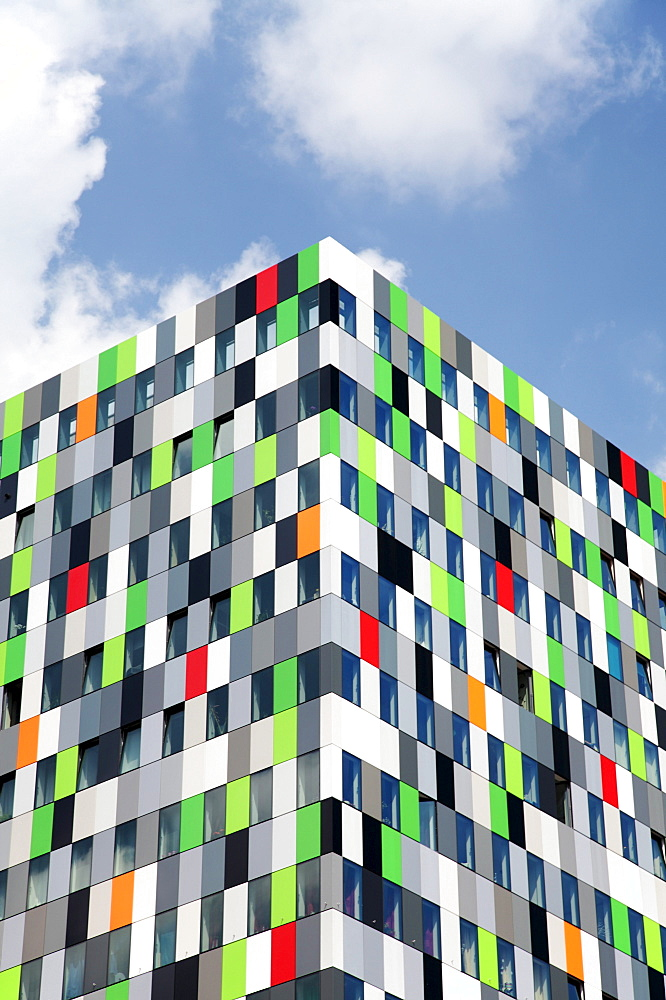 Casa Confetti building, Utrecht, Netherlands, Europe, Europe