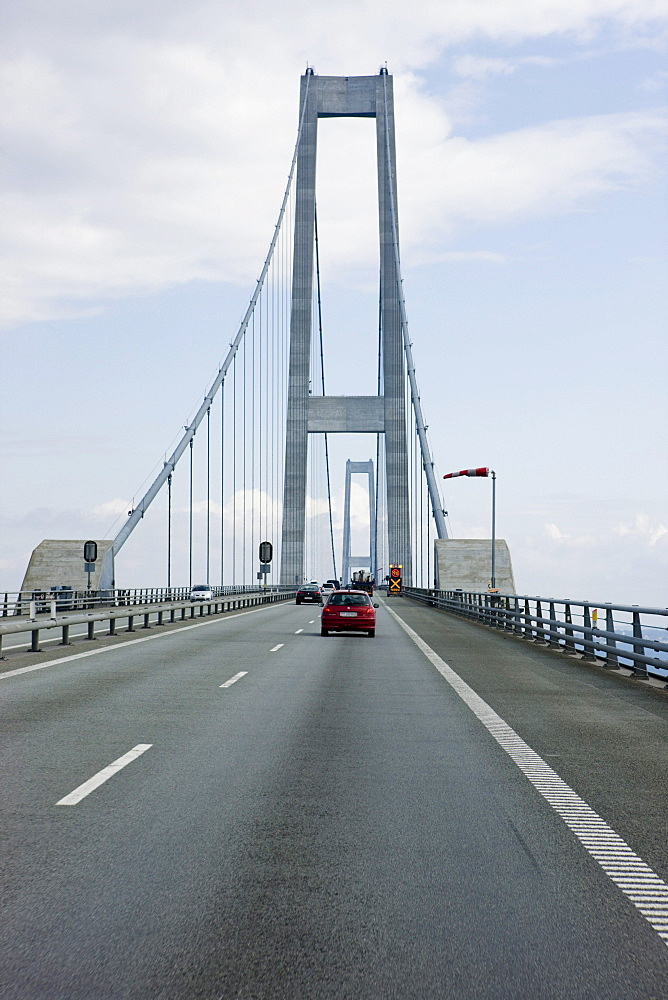 StorebÊltsforbindelsen or Great Belt Bridge, South Denmark, Denmark, Europe