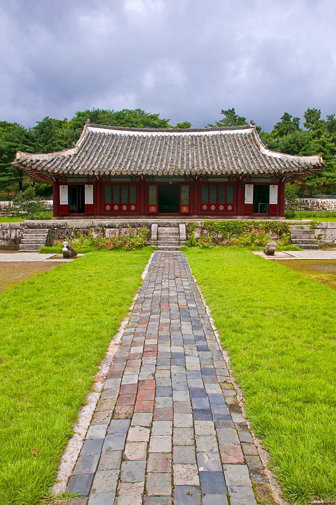 Koryo Museum, Songgyungwan, Kaesong, North Korea, Asia